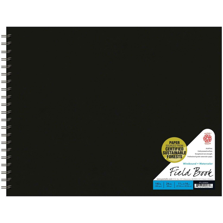 Watercolor Field Book 9x12