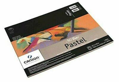 CANSON Pad Mi-Teintes 12 x 16