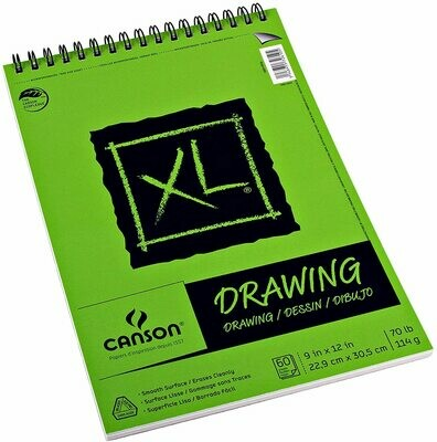 CANSON Pad Drawing XL 9x12