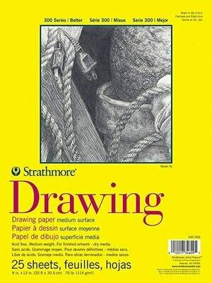 STRATHMORE  Pad Drawing 9x12