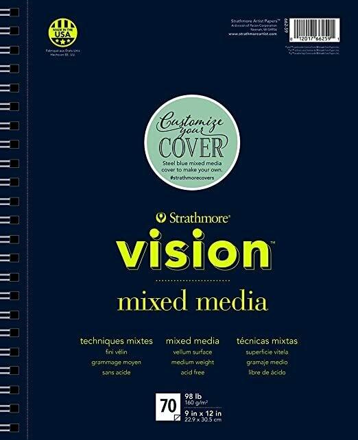 "STRATHMORE Vision Mix Media 11"" x 14"" [EACH]"