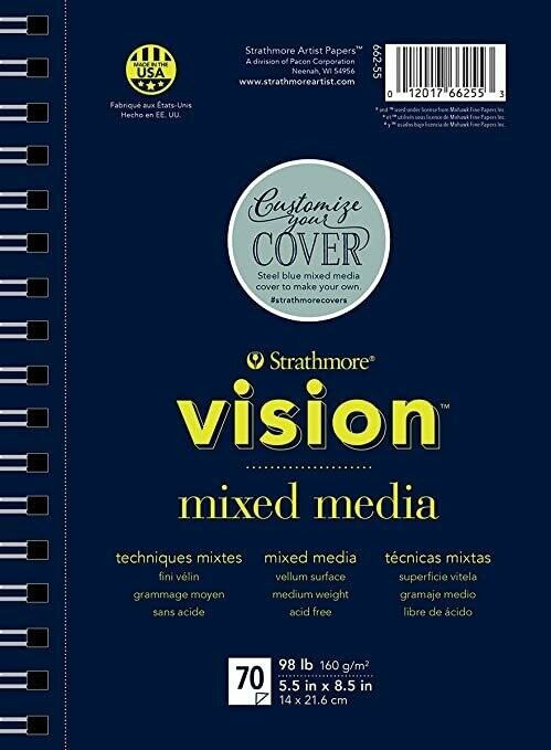 "STRATHMORE Vision Mix Media 5.5 x 8.5"" [EACH]"
