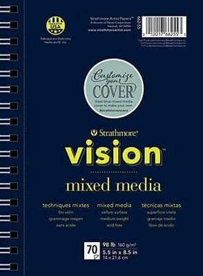 STRATHMORE Vision Mix Media 5.5 x 8.5