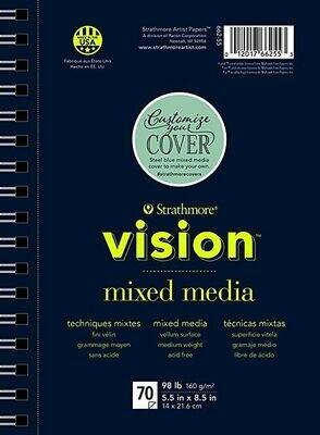 STRATHMORE Vision Mix Media 7 x 10