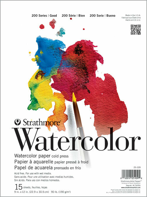 """STRATHMORE  Watercolor Pad 11"""" x 15"""" [EACH]"""