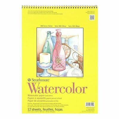 STRATHMORE Pad Watercolor 11x15