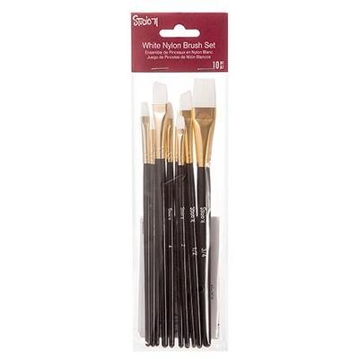 Brush Set 10 Nylon