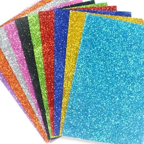 """Foamy Glitter 8.5 x11"""" (pk-10)"""