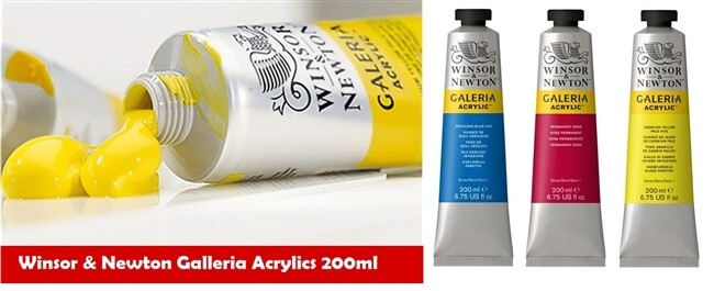 Paint Acrylic Galeria 200ml