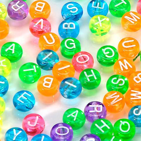 Alphabet Beads [pk-160]