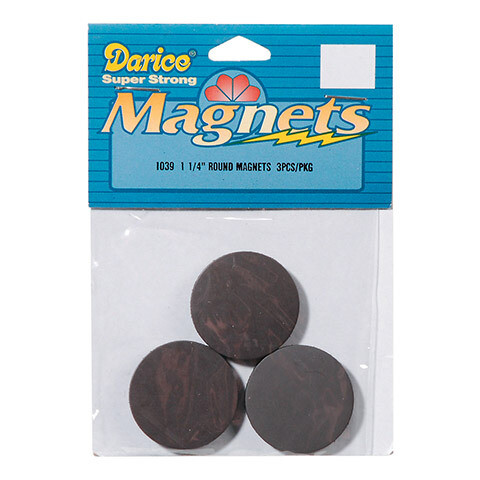 Magnets Round (pk-3)