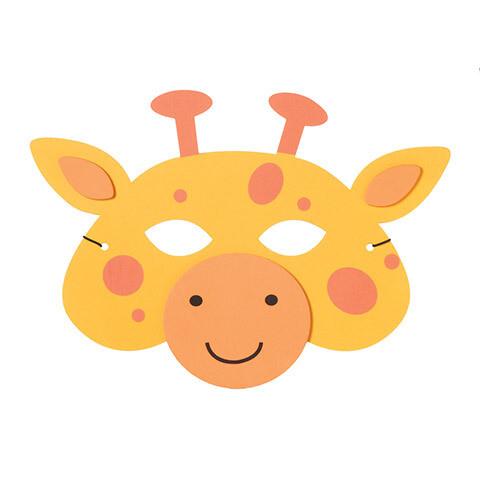 Foam mask Giraffe
