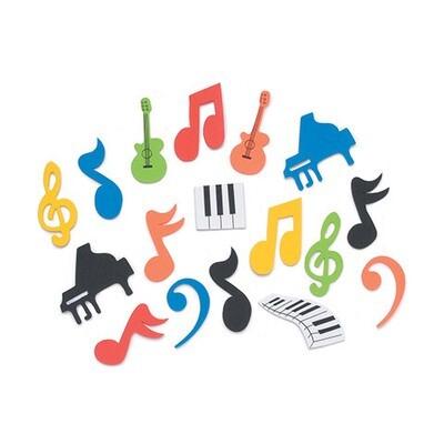 Foamies Stickers Music (pk-45)
