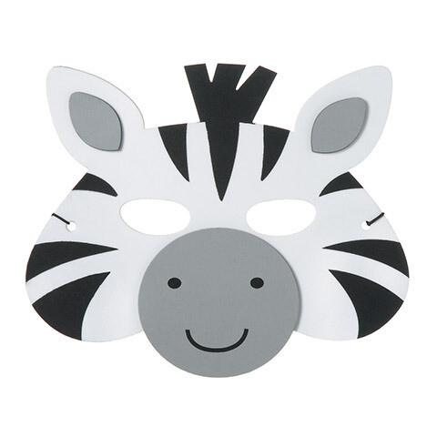 Foamy Mask Zebra