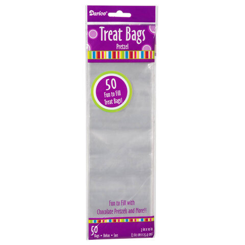"Treat Bag Clear 3x10"" (pk-50)"