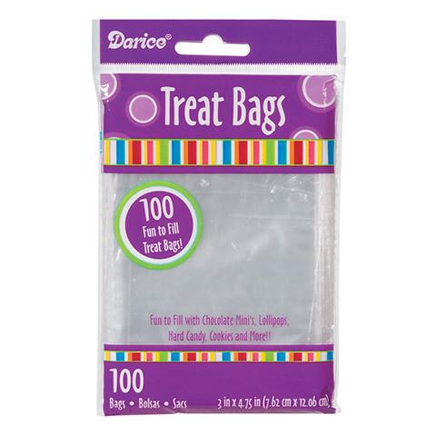 Treat Bags Clear (pk-100)