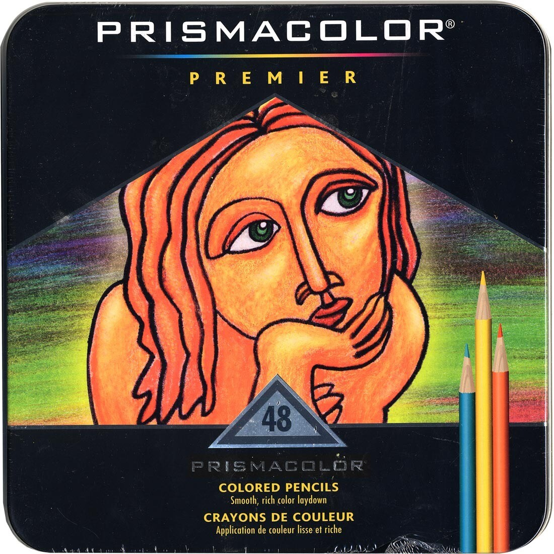 Prismacolor Premier Colored Pencils, Pk- 48 Colors