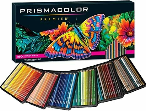 Prismacolor Premier Colored Pencils, Pk- 150 Colors