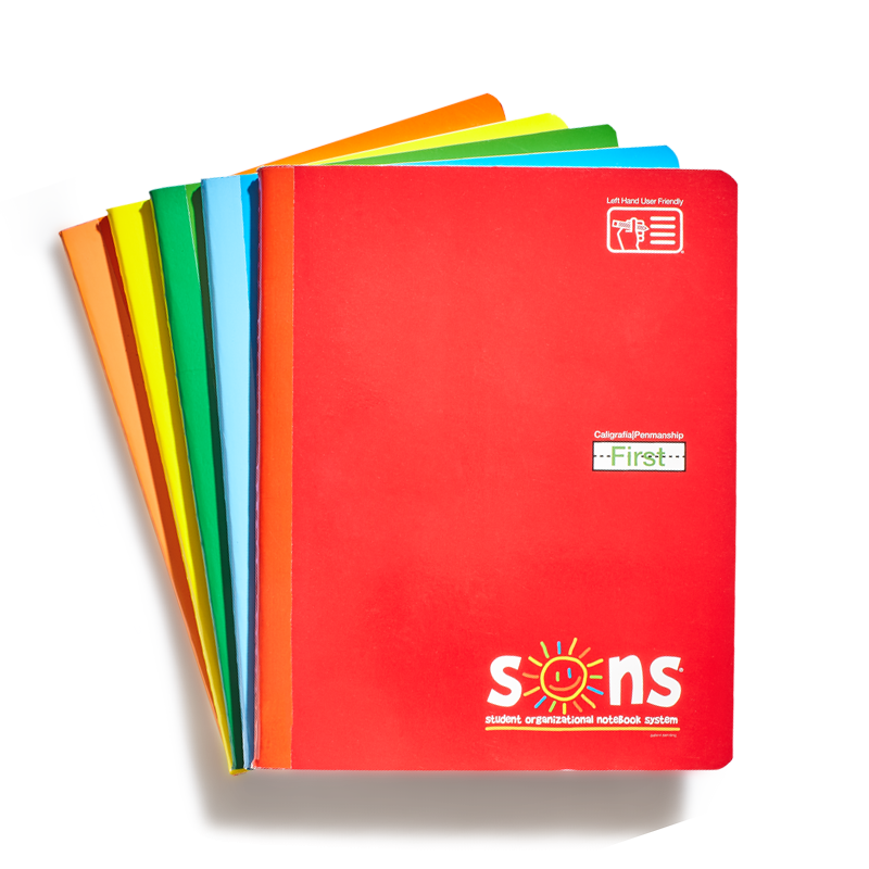 SONS First Primary Notebook (each)