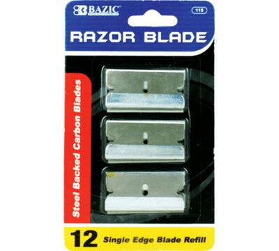 Bazic / Razor Replacement Blade with Tube