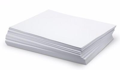 Paper Letter White, Resma