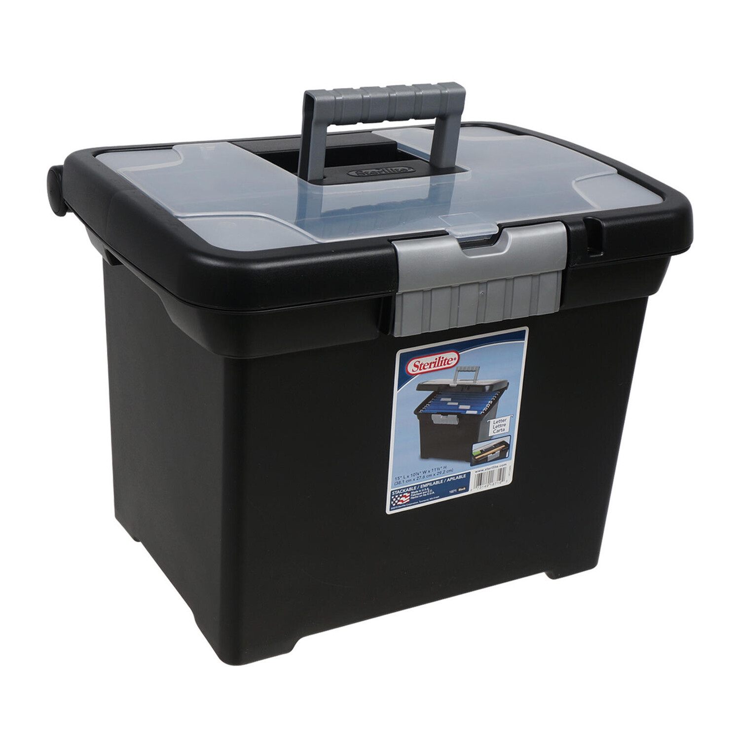 File Box LTR Portable