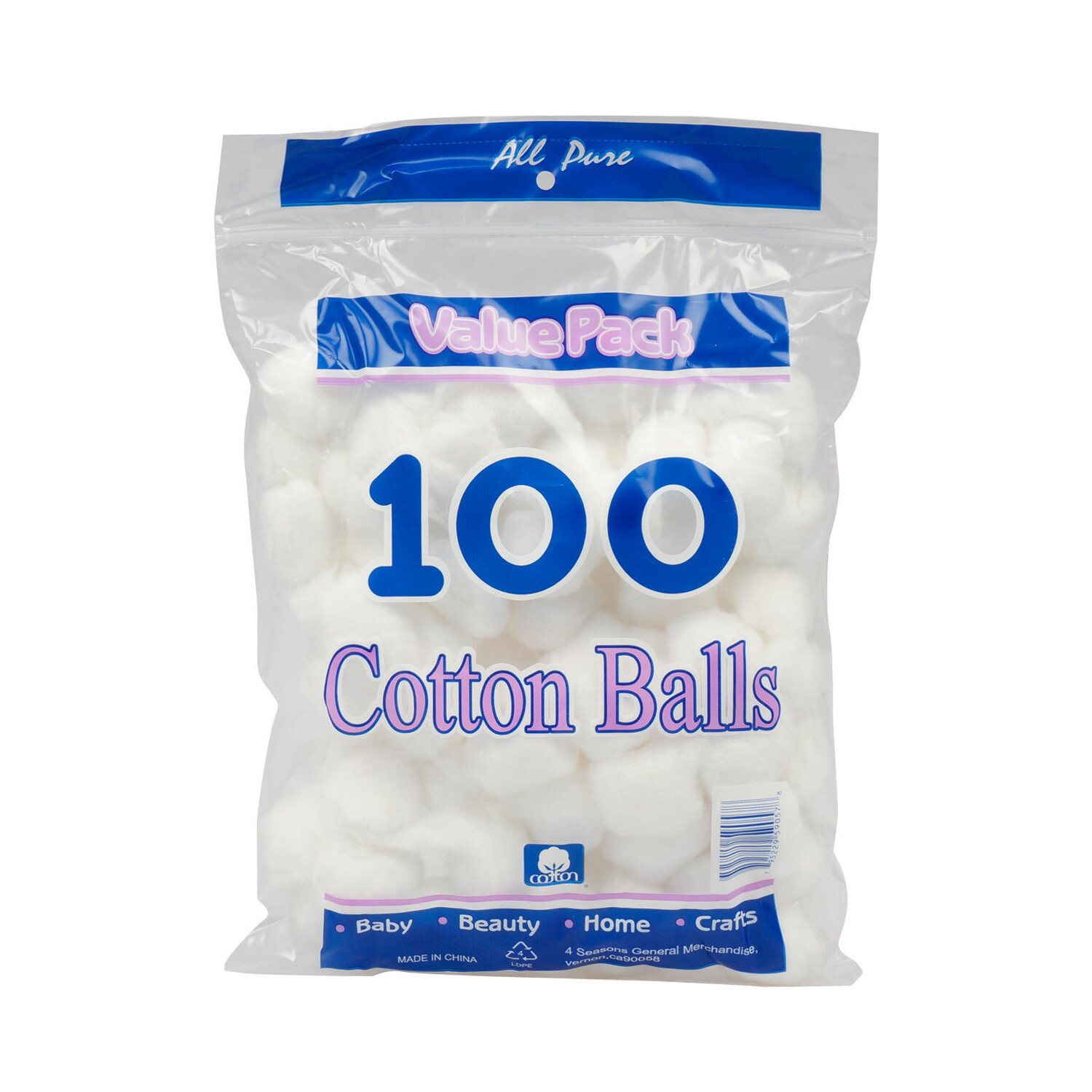 Cotton Ball (pk-100)