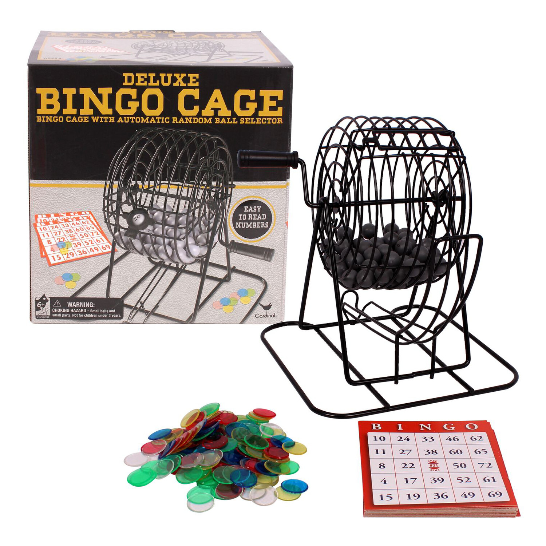 Deluxe Bingo Game Cage Set