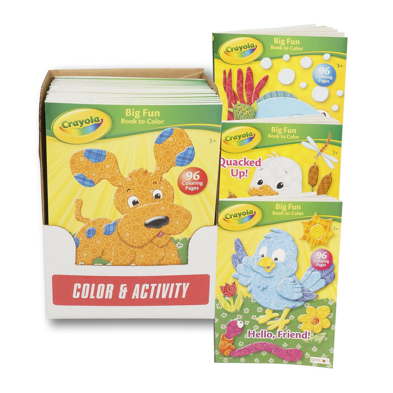 Coloring Book Crayola