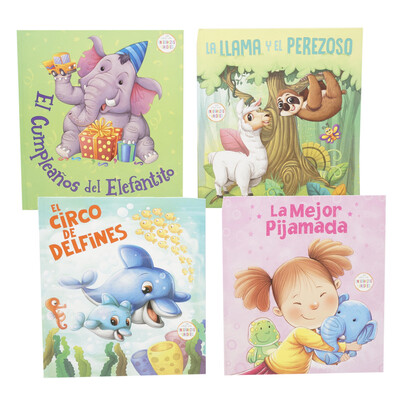 Story Book Hard Cover Spanish