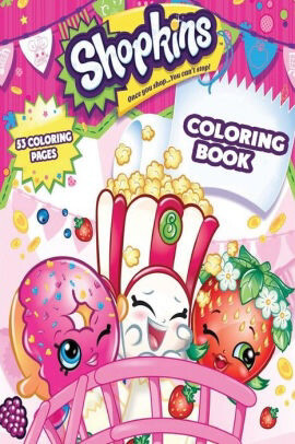 Coloring Book Shopkins