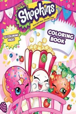 Coloring Book Shopkins