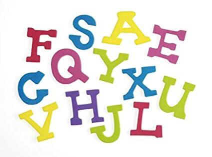 Stickers Alphabet Casual