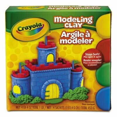 Modeling Clay 1 lb. Asst. Colors