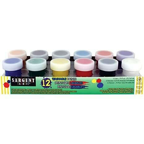 Tempera Sargent 12 Colors