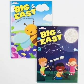 Coloring Book Big & Easy
