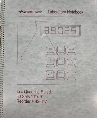 Laboratory Notebook (50 sets)
