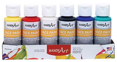 Handy Art Face Paint (6 Color Set)