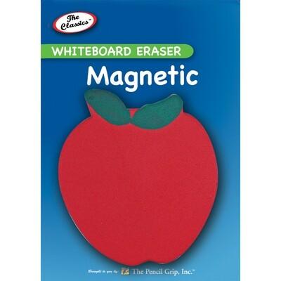Magnetic Whiteboard Eraser Apple Shape- <Borrador magnético>