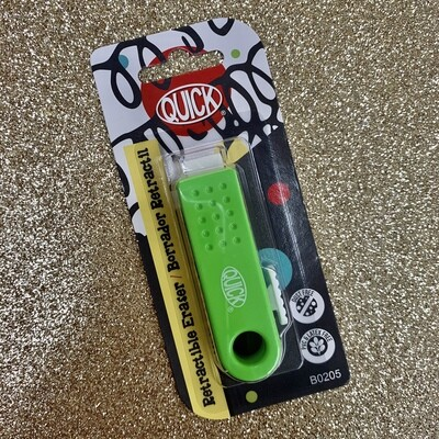 Quick Eraser retractable