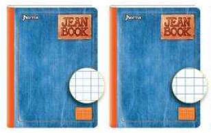 Libreta Cuadriculada Jean Book
