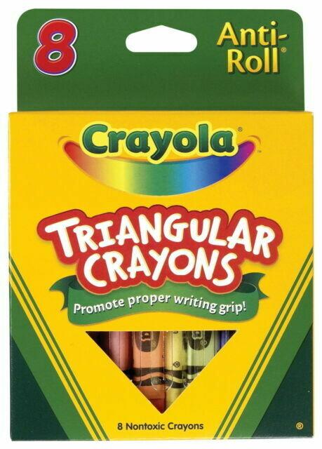 Crayons Triangular (pk-8)