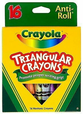 Crayolas Triangulares (pk-16)
