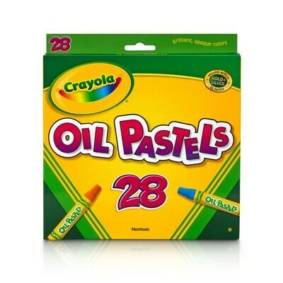 Crayola / Oil Pastels Crayons, Pk-28