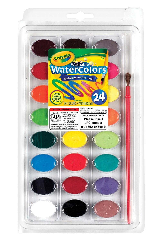 Watercolor Pan (24 colors)