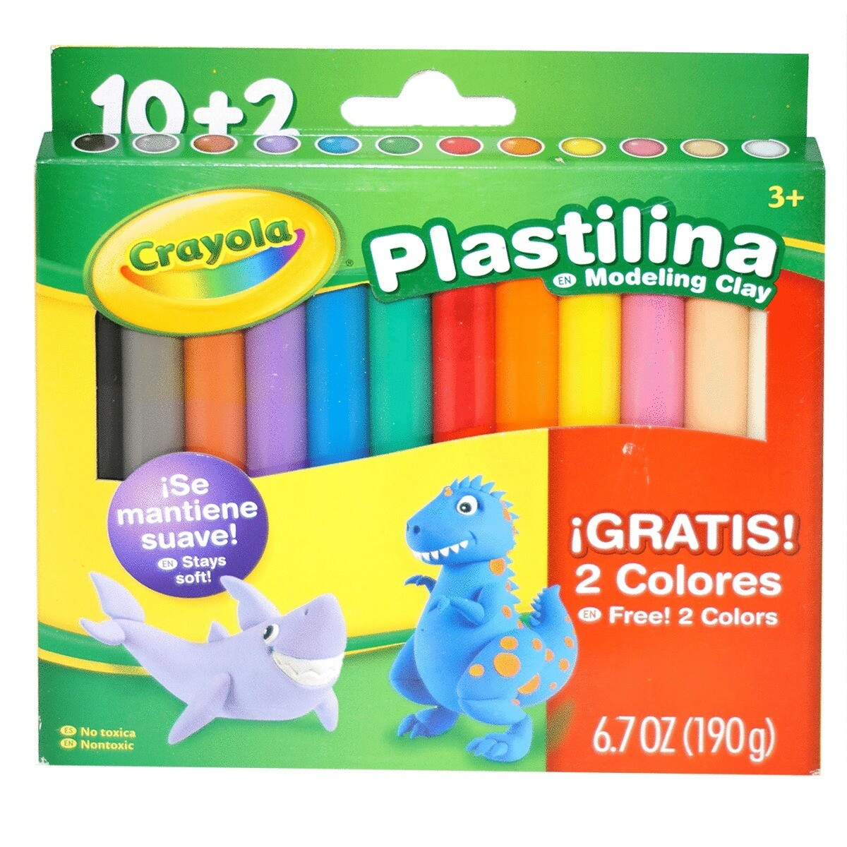 Modeling Clay Crayola (st-12)