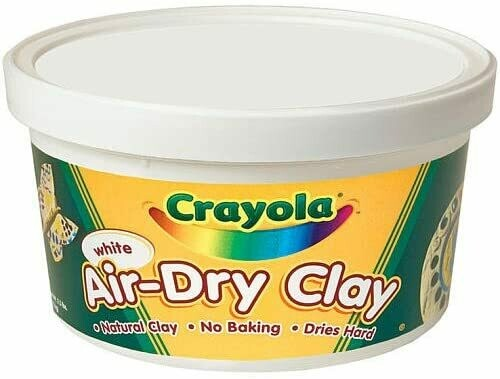 Air-Dry Clay White (2.5 lbs)