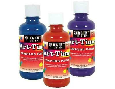 Tempera Paint 8oz.