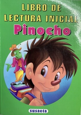 Booklet Pinocho Lectura Inicial
