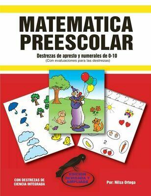 Book Matemática Preescolar
